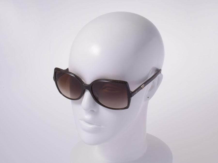 3ea0ea34df340 Ginzo Rakuten Ichiba Shop  Chanel-Coco mark Sunglasses brown 5245-A ...