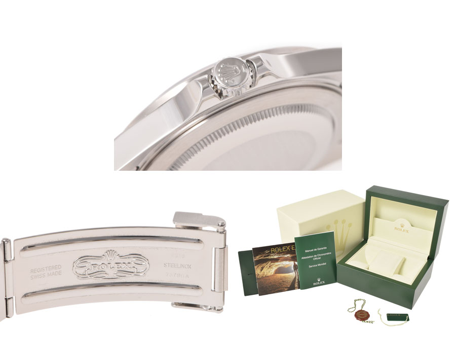 Rolex, ROLEX Explorer 2 16570 SS lindera board random turn box guarantee country サ 保◇
