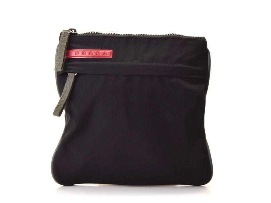 866592f60aa0ae ... new arrivals prada prada sport shoulder bag nylon black 5f750 fba69