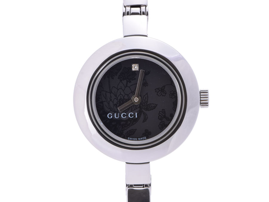b586eafaf96 Ginzo Rakuten Ichiba Shop  Used Gucci 105L bangle watch SS quartz ...