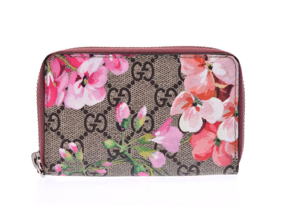 72965dcc793696 Ginzo Rakuten Ichiba Shop: Used Gucci GG bloom round card case PVC ...