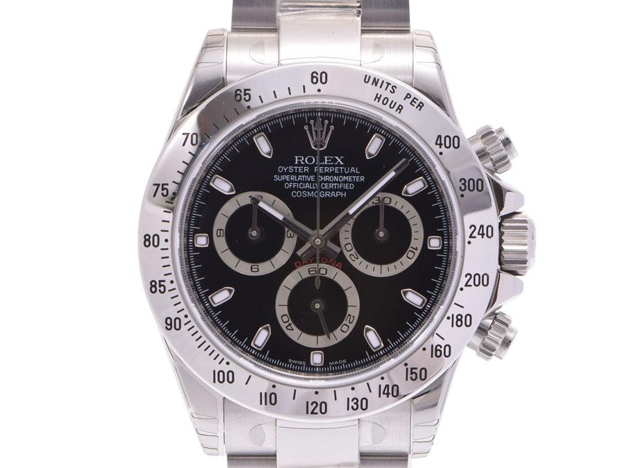Used Rolex Daytona >> Used Rolex Daytona 116520 Lindera Board V Turn Ss Box Guarantee Dead Stock Self Winding Watch Men Clock Rolex