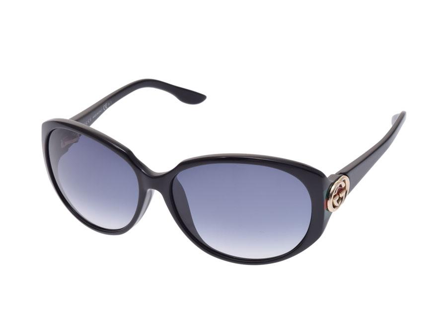 ff98db62f6a Ginzo Rakuten Ichiba Shop  Used Gucci sunglasses GG3174 F S black ...