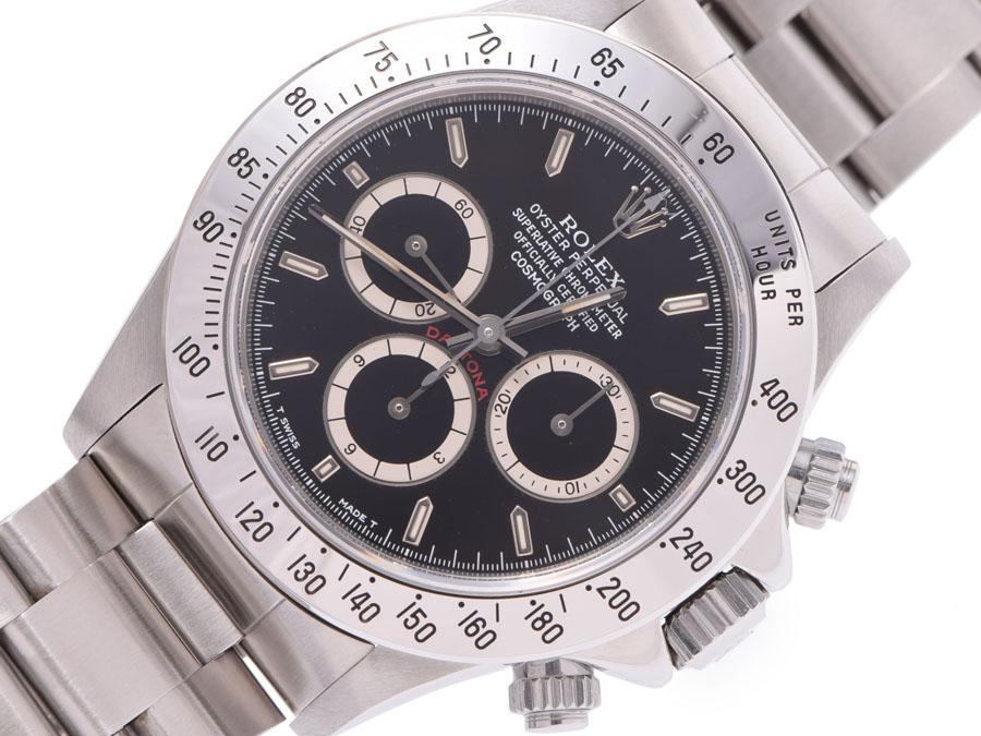 Used Rolex Daytona >> Used Rolex Daytona 16520 Reverse 6 Lindera Board N Turn Ss Single Buckle Self Winding Watch Men Clock Rolex