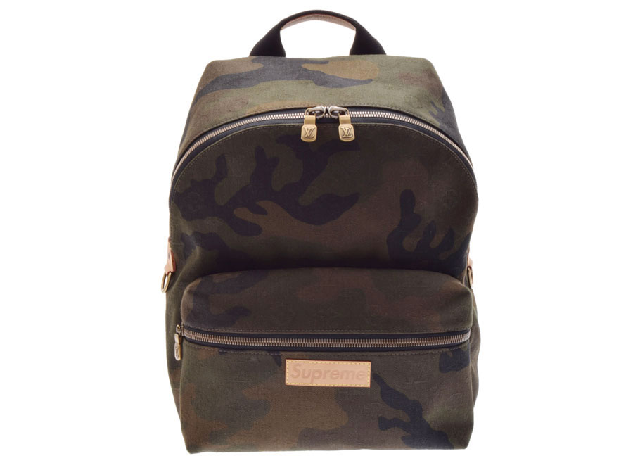 17d3b8008fe5 Used Louis Vuitton Apollo backpack Supreme collaboration camouflage M44200  men rucksack newly LOUIS VUITTON◇