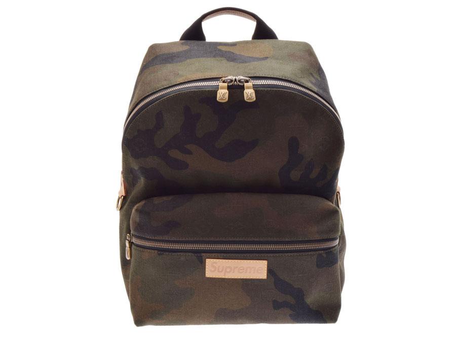 ff2b737f44f Ginzo Rakuten Ichiba Shop  Used Louis Vuitton Apollo backpack Supreme  collaboration camouflage M44200 men rucksack newly LOUIS VUITTON◇   Rakuten  Global ...