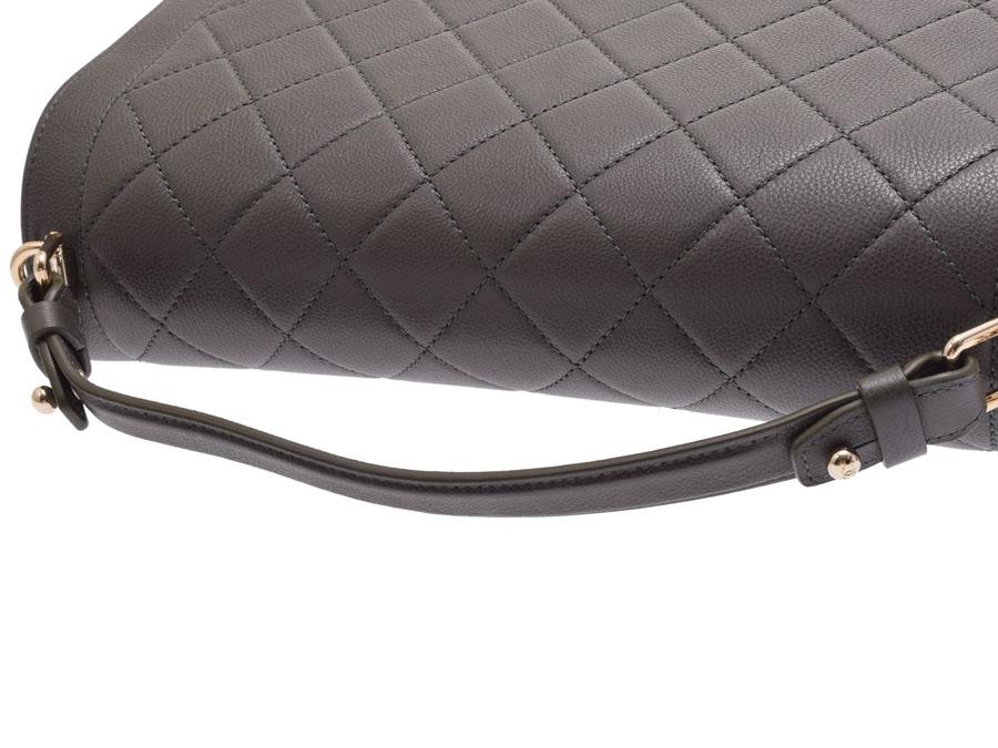 3696db4281de ... Used Chanel matelasse chain shoulder bag caviar skin olive logo plate  newly CHANEL◇ ...