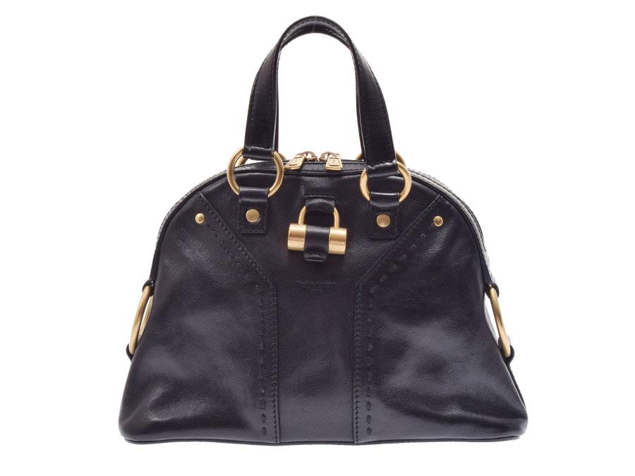 Ginzo Rakuten Ichiba Shop  Used Saint-Laurent Muses bag leather ... 3d623e62de262
