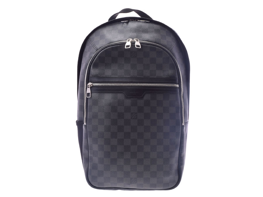 e18074b707 ルイヴィトングラフィットミカエル N58024 backpack rucksack men LOUIS VUITTON used silver  storehouse