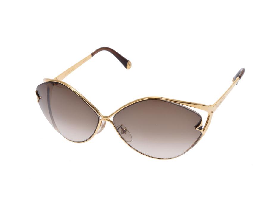 a51b97c8991 Used Louis Vuitton sunglasses laurel tea metal Z0410U case LOUIS VUITTON◇  ...