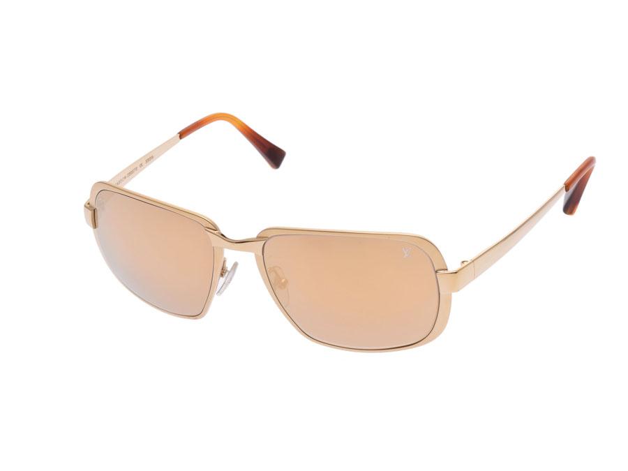 de59d877c8e2 Ginzo Rakuten Ichiba Shop  Used Louis Vuitton sunglasses gold Z0057U ...