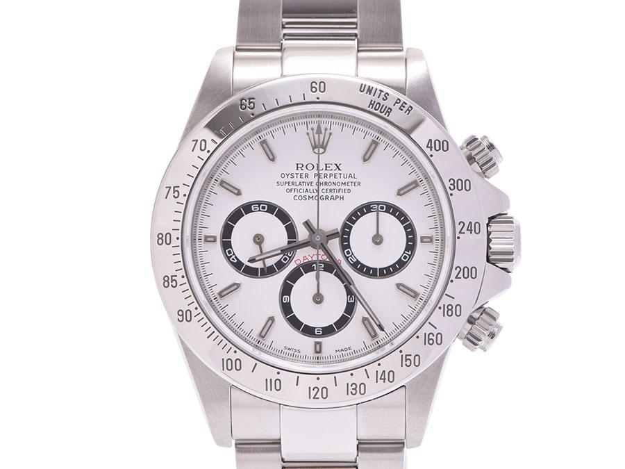 Used Rolex Daytona >> Used Rolex Daytona 16 520a Turn Ss White Clockface Box Self Winding Watch Clock Men Rolex
