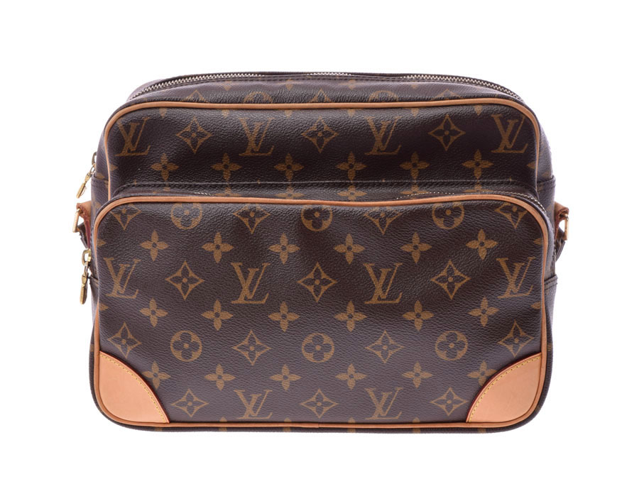 Used Louis Vuitton Monogram Nile M45244 Shoulder Bag Men Gap Dis