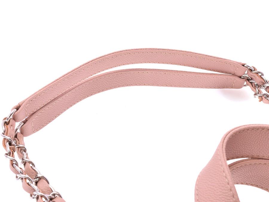 d069261f0057 Ginzo Rakuten Ichiba Shop: Chanel matelasse 2WAY chain tote bag pink ...