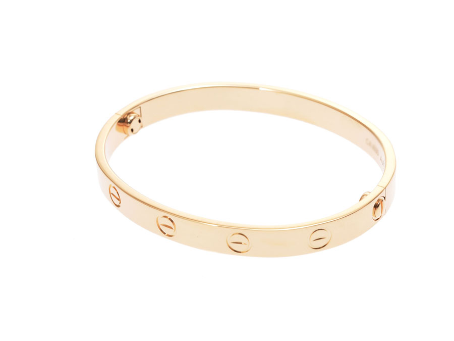 5eef95b2139f8 Cartier love bracelet #16 Lady's YG 28.2 g A rank beauty product CARTIER  box guarantee used silver storehouse