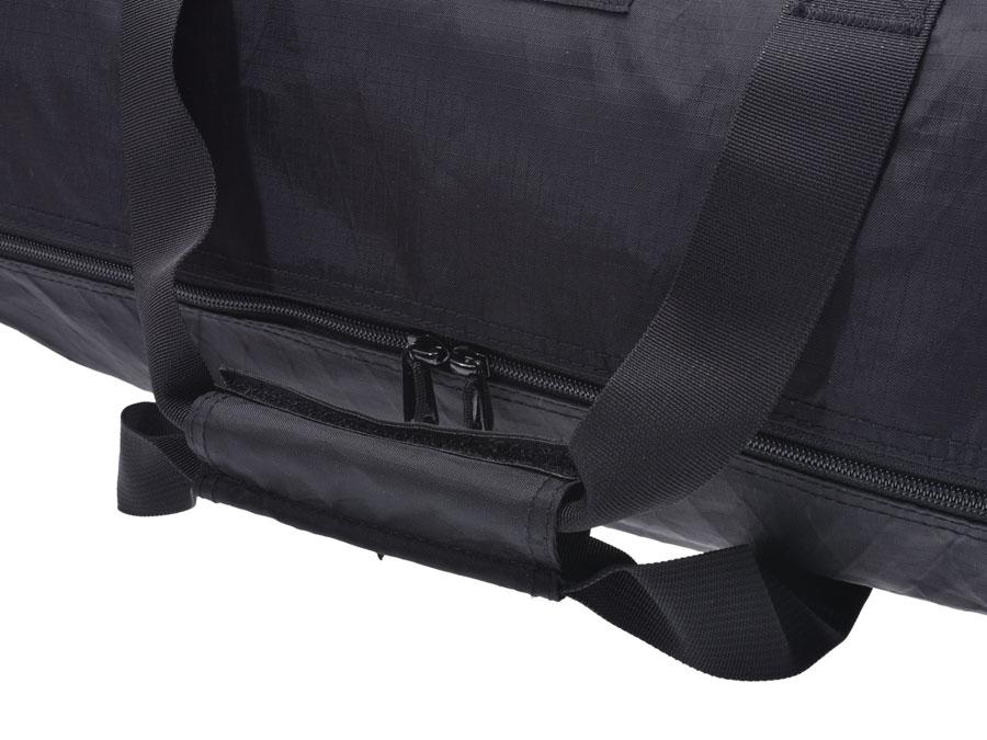 4abd21533cd3 シュプリームDUFFLEBAG18FW黒メンズレディースポリエステルダッフルバッグボストンバッグ未使用美品Supreme中古