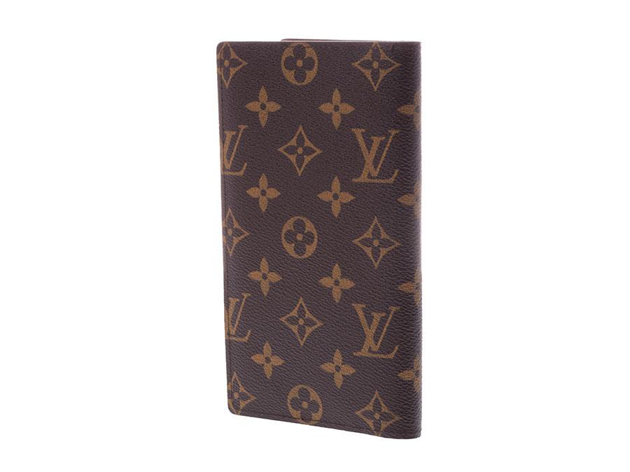9842fc6c868 Louis Vuitton monogram Columbus brown M60252 men gap Dis genuine leather  long wallet newly beauty product LOUIS VUITTON used silver storehouse