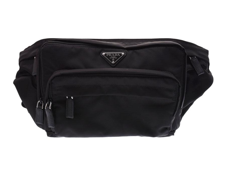4c994930a1748b Prada waist porch black 2VL003 men gap Dis nylon body bag-free PRADA box  guarantee ...