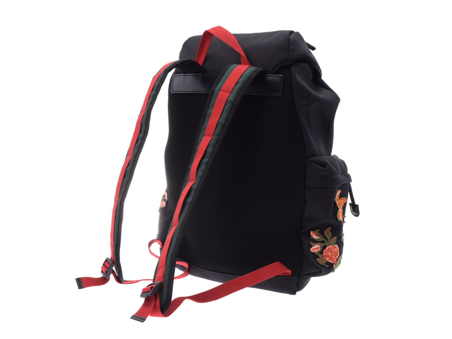 930974d0466e It is backpack / rucksack of Gucci who fully enters at big size. The  embroidery applique of a tiger and the flower symbolizing Gucci and an  embroidery ...