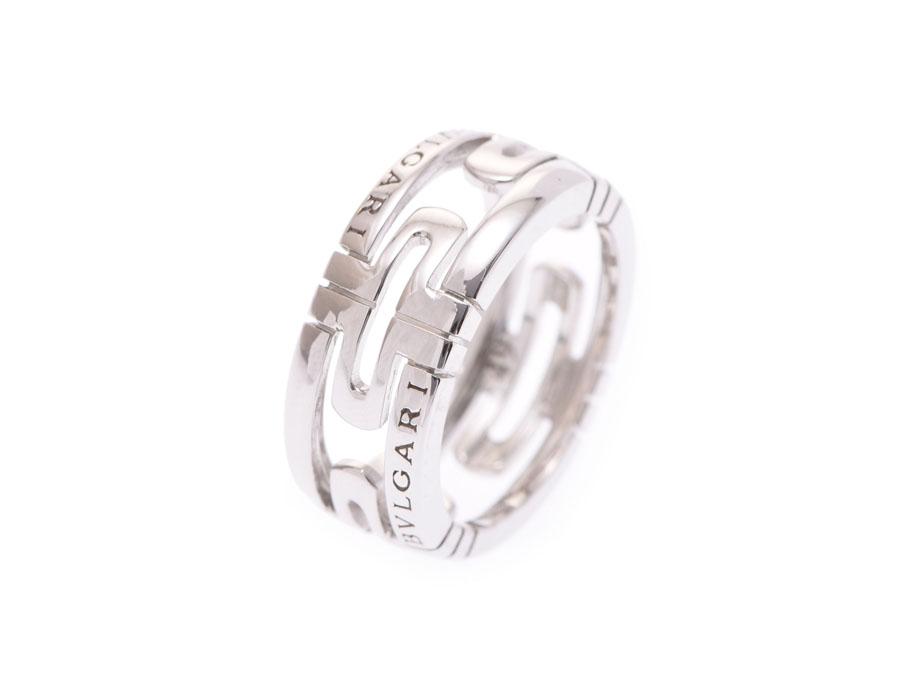 【エントリーで全品ポイント10倍!!4/16 1:59まで&最大5000円OFFクーポン】ブルガリ パレンテシリング Sサイズ #49 メンズ レディース WG 6.1g 指輪 ABランク BVLGARI 中古 銀蔵