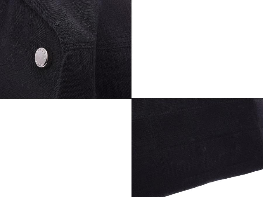 ced31ebe088b メンズ レディース 黒 トートバッグ ニュートラベルライン シャネル ナイロン 銀蔵 中古 CHANEL Bランク-トートバッグ