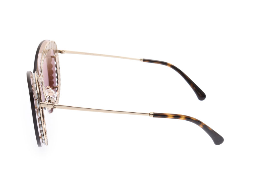 2955d9144 ... Chanel sunglasses butterfly shape 4236-H C.395/S5 Lady's metal pearl A  ...