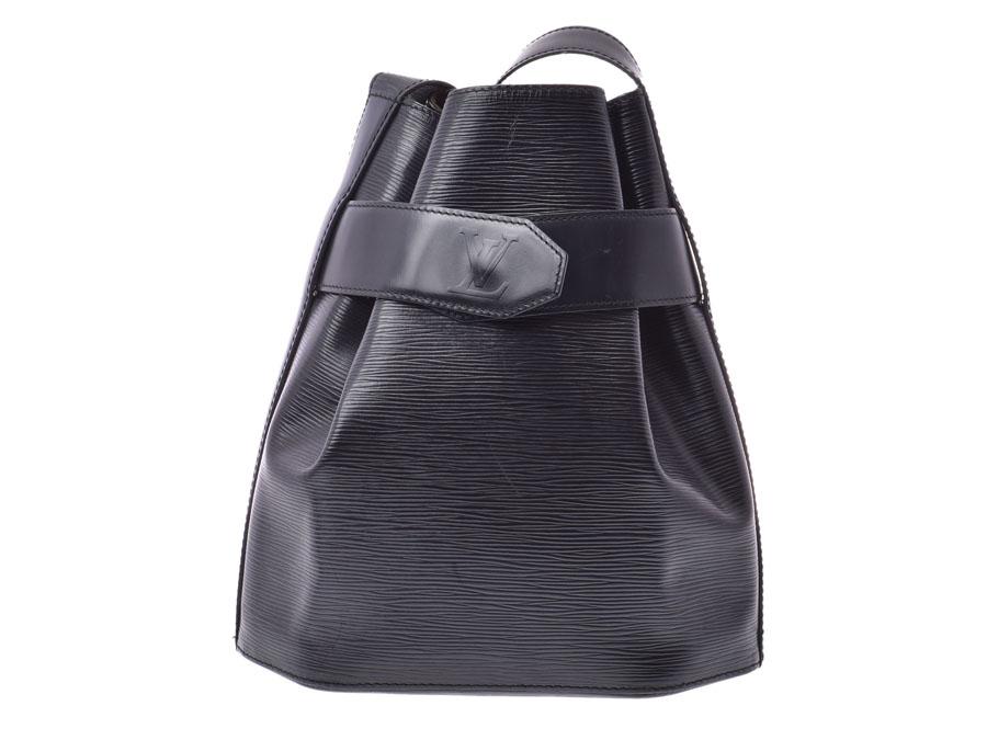 ルイヴィトン エピ サック デポールPM 黒 M80157 レディース 本革 ワンショルダーバッグ Bランク LOUIS VUITTON 中古 銀蔵