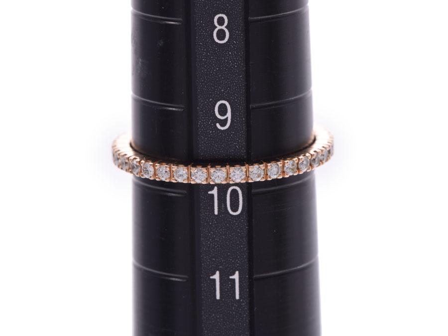 ブルガリ エタニティリング50 レディース ダイヤ PG 1 5g 指輪 Aランク BVLGARI銀蔵rBxeQWCdo