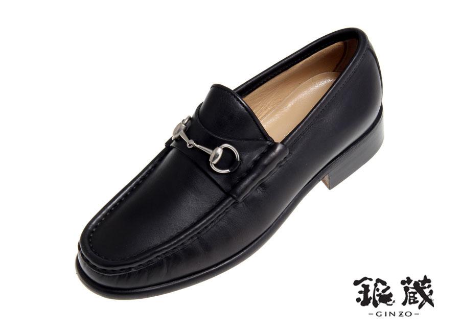 aeb303c9ee0 Ginzo Rakuten Ichiba Shop  Gucci-GUCCI-bit loafers black leather ...
