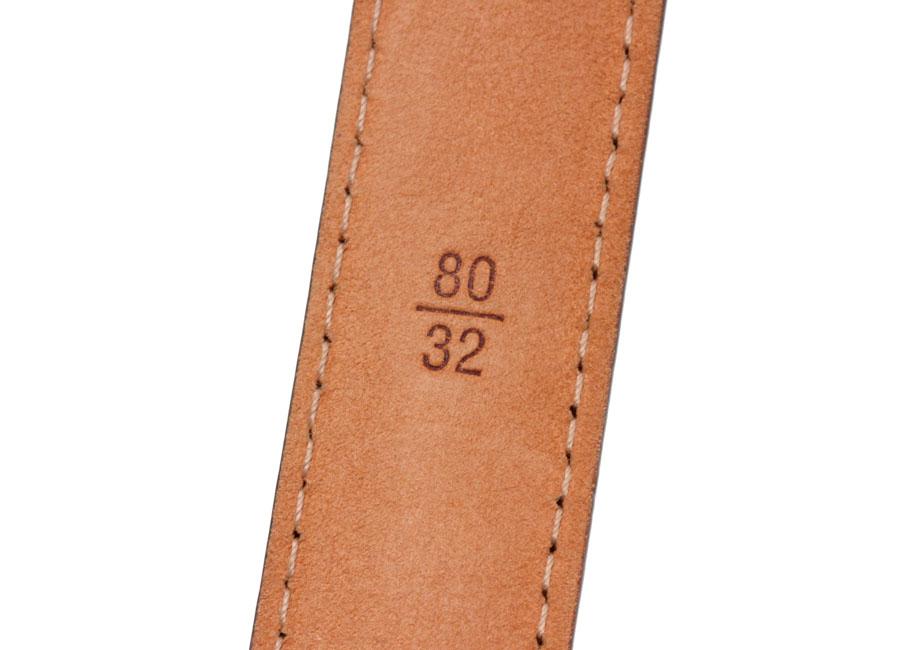 Leviton Monogram sanchurmini belt size 80 cm-
