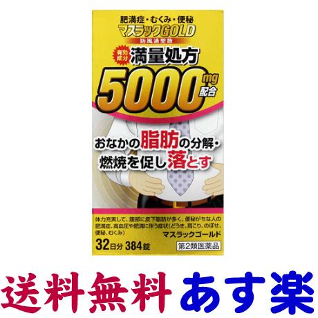 【第2類医薬品】マスラックGOLD 384錠(ナイシトールZのジェネリック)