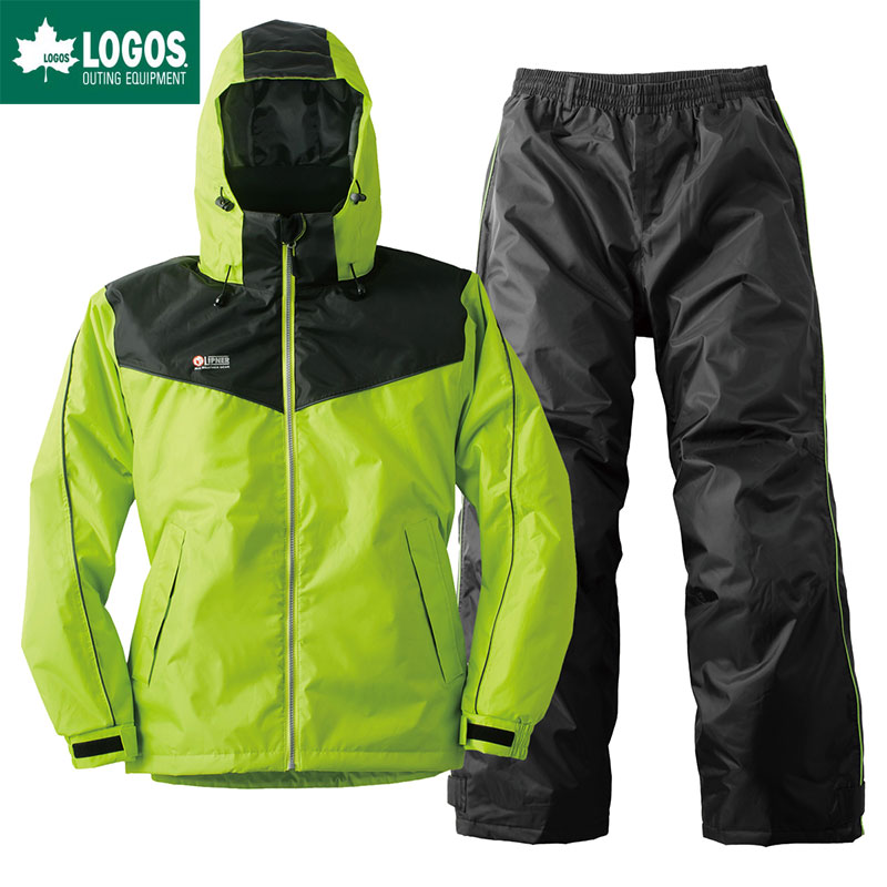 LOGOS ロゴス 防水防寒スーツ オーウェン メンズ グリーン LL