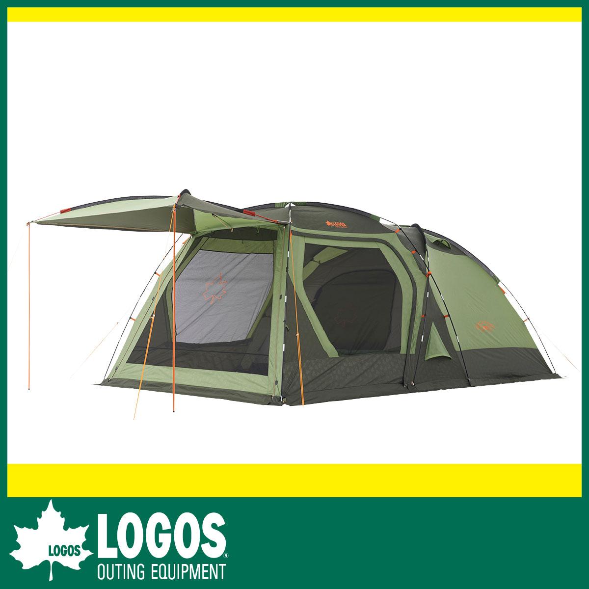 【LOGOS ロゴス】キャノピーの進化形 強度と居住性に優れたPANELシステムを採用 ・neos PANELスクリーンドゥーブル XL(テント)