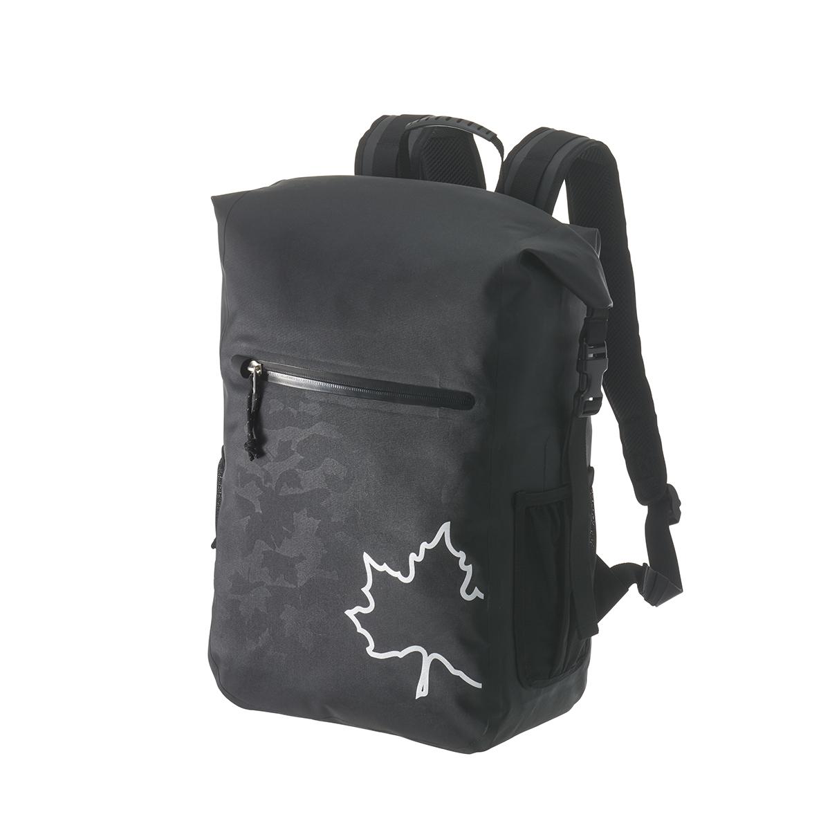【LOGOS】SPLASH mobi スモールダッフルリュック25 (ブラックカモ)