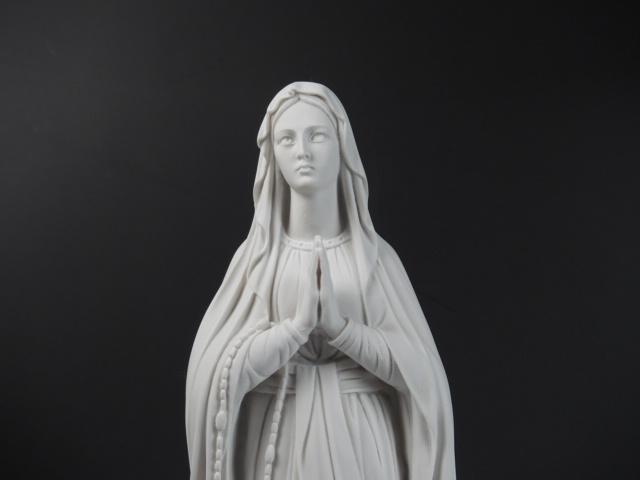 【聖母マリア像】教会/キリスト教/ジョバンニローゼ/マリアさま/西洋インテリア/祈りを捧げるマリア像/オブジェ