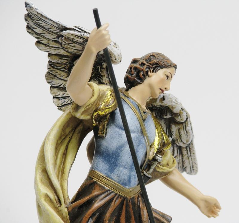 モンサンミシェル 大天使ミカエル キリスト教 西洋インテリア ジョバンニローゼインテリア クリスマス 西洋風 高品質 小物 置物 アンティーク 卓越