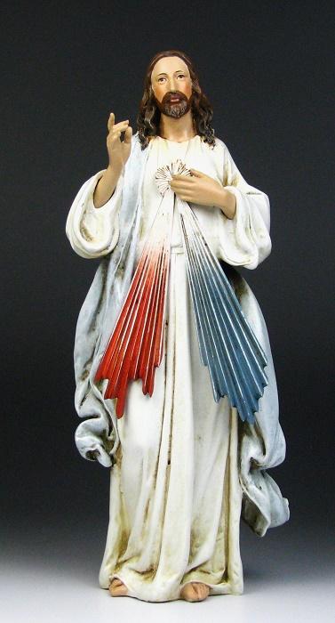 慈悲のイエス キリスト教 イエスキリスト アンティークStyle 西洋インテリア26cm インテリア 小物 上品 置物 超激安 西洋風 アンティーククリスマス オブジェ