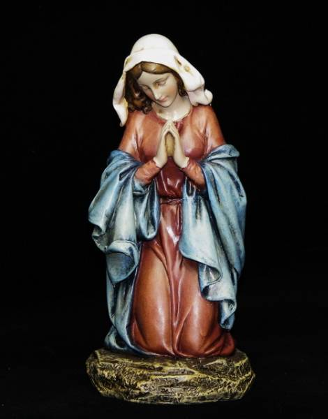 ひざまづく聖母マリア像 キリスト教 ディスカウント クリスマス 西洋インテリア 懺悔 値下げ カトリック ジョバンニローゼインテリア 小物 欧州 オブジェ アンティーク 北欧 西洋 置物