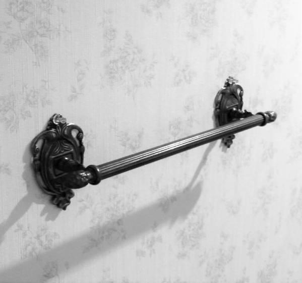 アンティークスタイル イタリア製 タオルハンガー 超定番 バー 洗面所 バス トイレ ブラス製 真鍮 ジョバンニローゼ キッチン 装飾的 アンティーク 予約販売