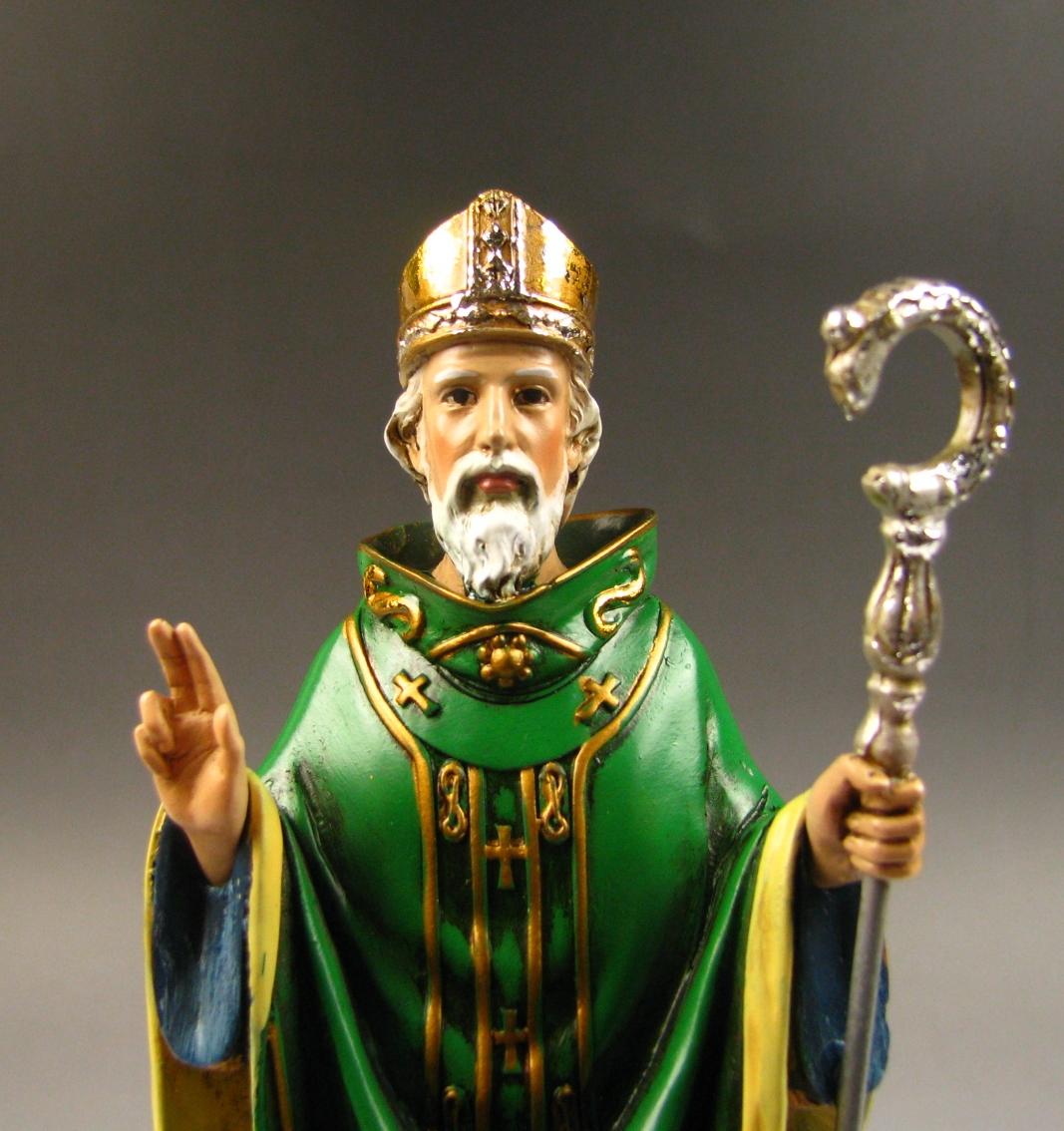 緑の聖人 聖パトリック キリスト教 超特価 アイルランド シャムロック 緑 インテリア 西洋風 格安SALEスタート クリスマス 置物 小物 アンティーク