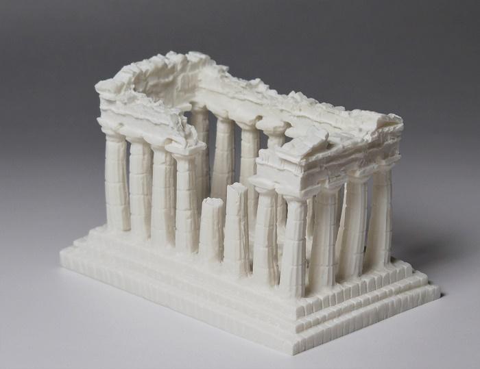 15000円以上送料無料 ギリシャ彫刻 アテネのパルテノン神殿 ジョバンニローゼ 古代ギリシャ アラバスター アンティーク 贈答 インテリア 保障 置物 クリスマス 西洋風 小物