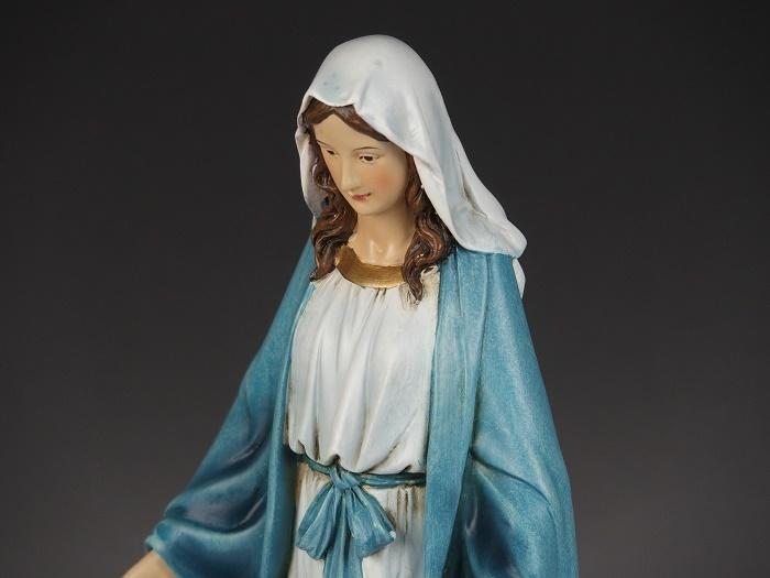 やさしいお顔のマリア様 聖母マリア像 マリア様 クリスマス 爆買い新作 高級な キリスト教 西洋インテリア アンティークstyle アンティーク 置物 ジョバンニローゼ インテリア 小物 西洋風