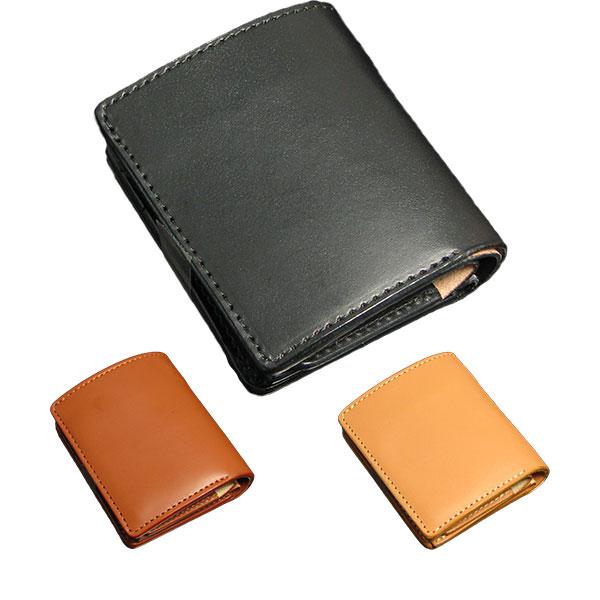 [クーポン発行中] 財布 コンパクト 革 日本製 二つ折り ショートウォレット メンズ レディース ギフト プレゼント 新生活