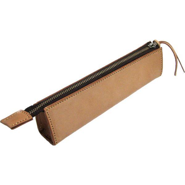 [クーポン発行中] ペンケース 筆箱 牛革 ヌメ革 ホースオイル仕上げ 日本製 le75 クリスマス