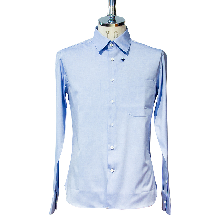 giraffeレギュラーシャツ LT.BLUE M