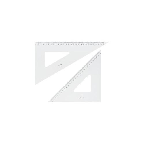 高い素材 送料無料 秀逸 井上製作所 30cm 三角定規