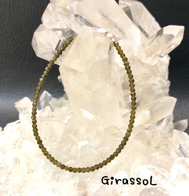 10月の誕生石 グリーントルマリンBC3×2.5 ブレスレット 価格 特価キャンペーン