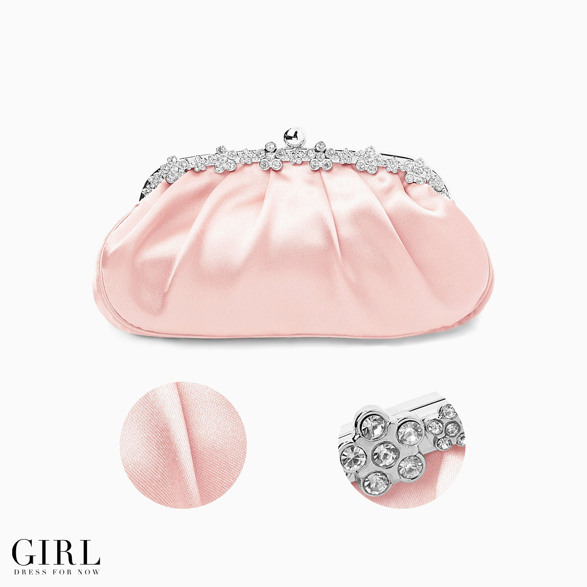 7 Wedding bag ★ new colors now available colors soft cute classy silhouette florets bijoux ♪ coin purse party bag party wedding parties party party bag back parties back BAG clutch back store bag sb ro