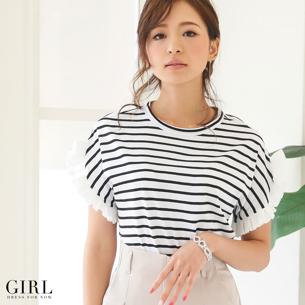 ac43a1ff34be Dress shop GIRL  Tops blouse pullover design Chateau T shirt women s ...