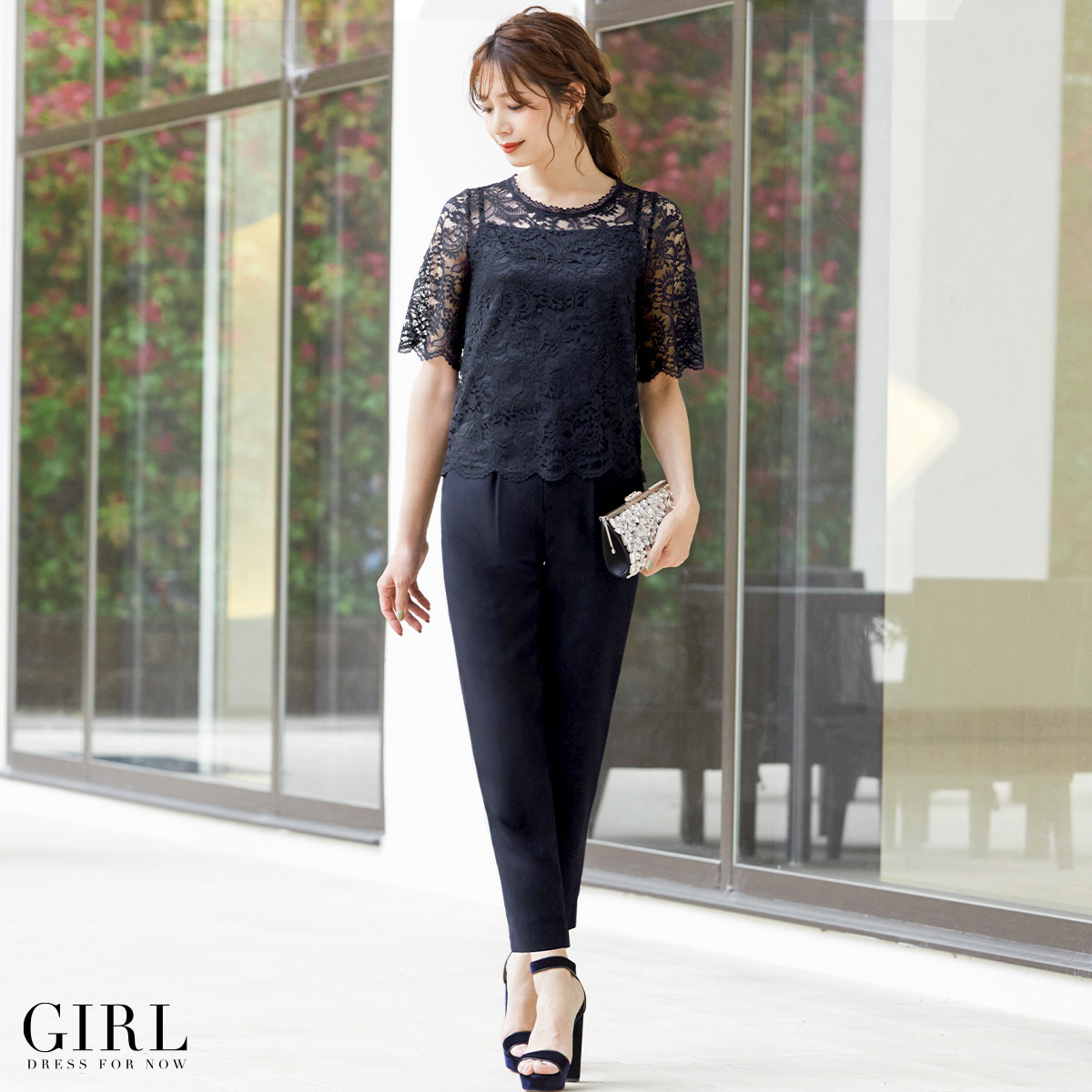 Dress shop girl rakuten global market party dress pants for Wedding dresses for invited guests